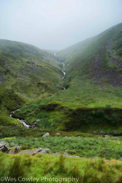 Annuscal waterfall