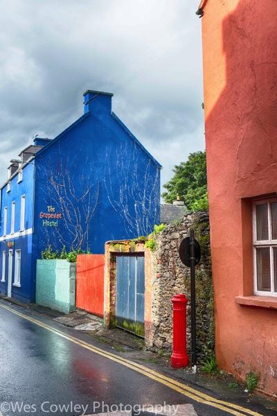 Dingle colorful street