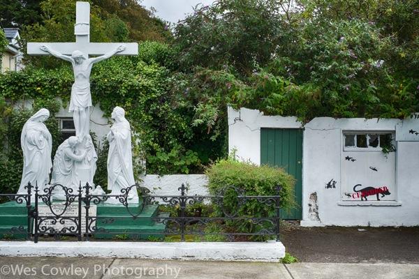 Dingle crucifixion scene