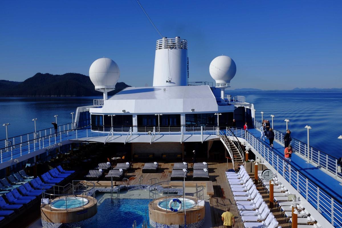 Regatta pool deck