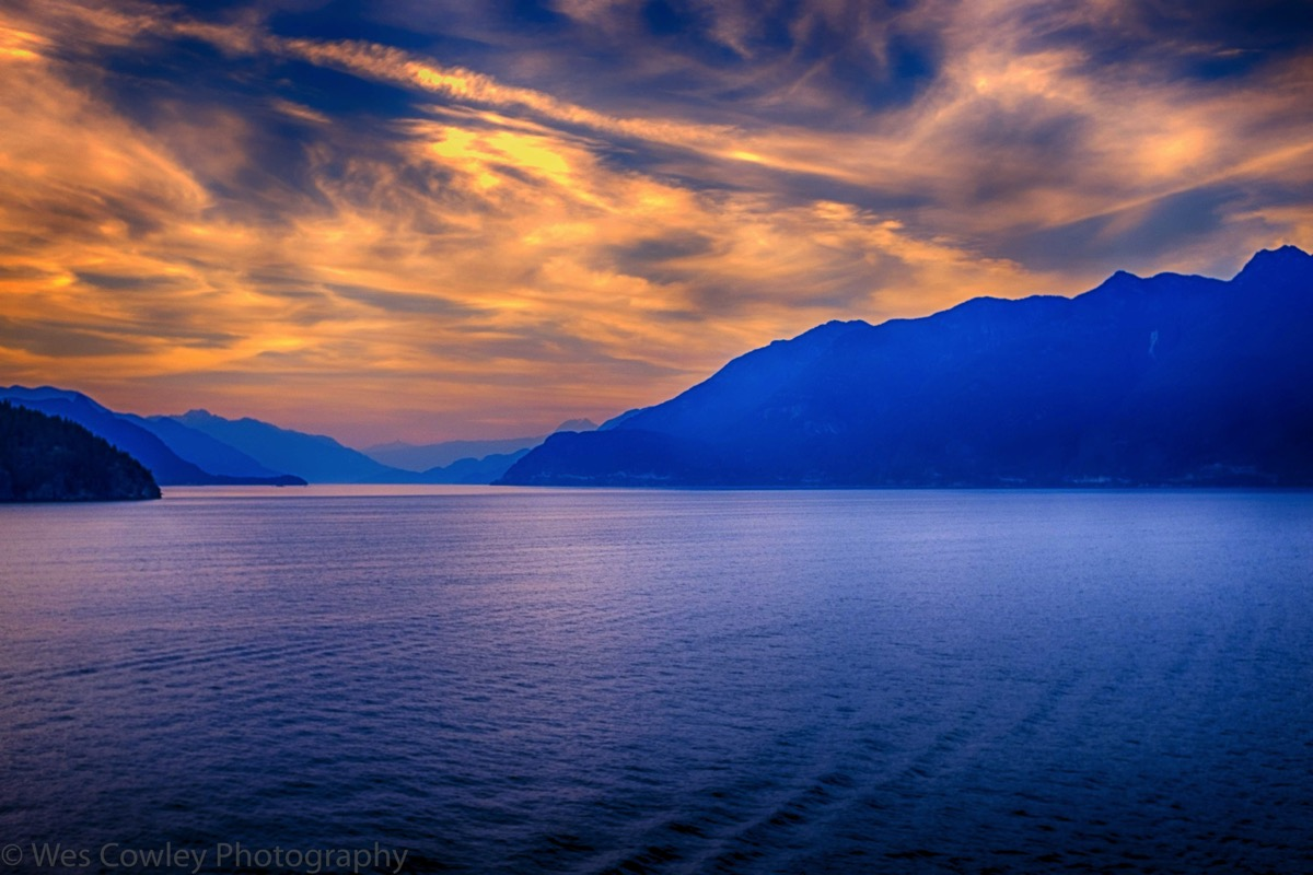 Evening over bc restyle hdr