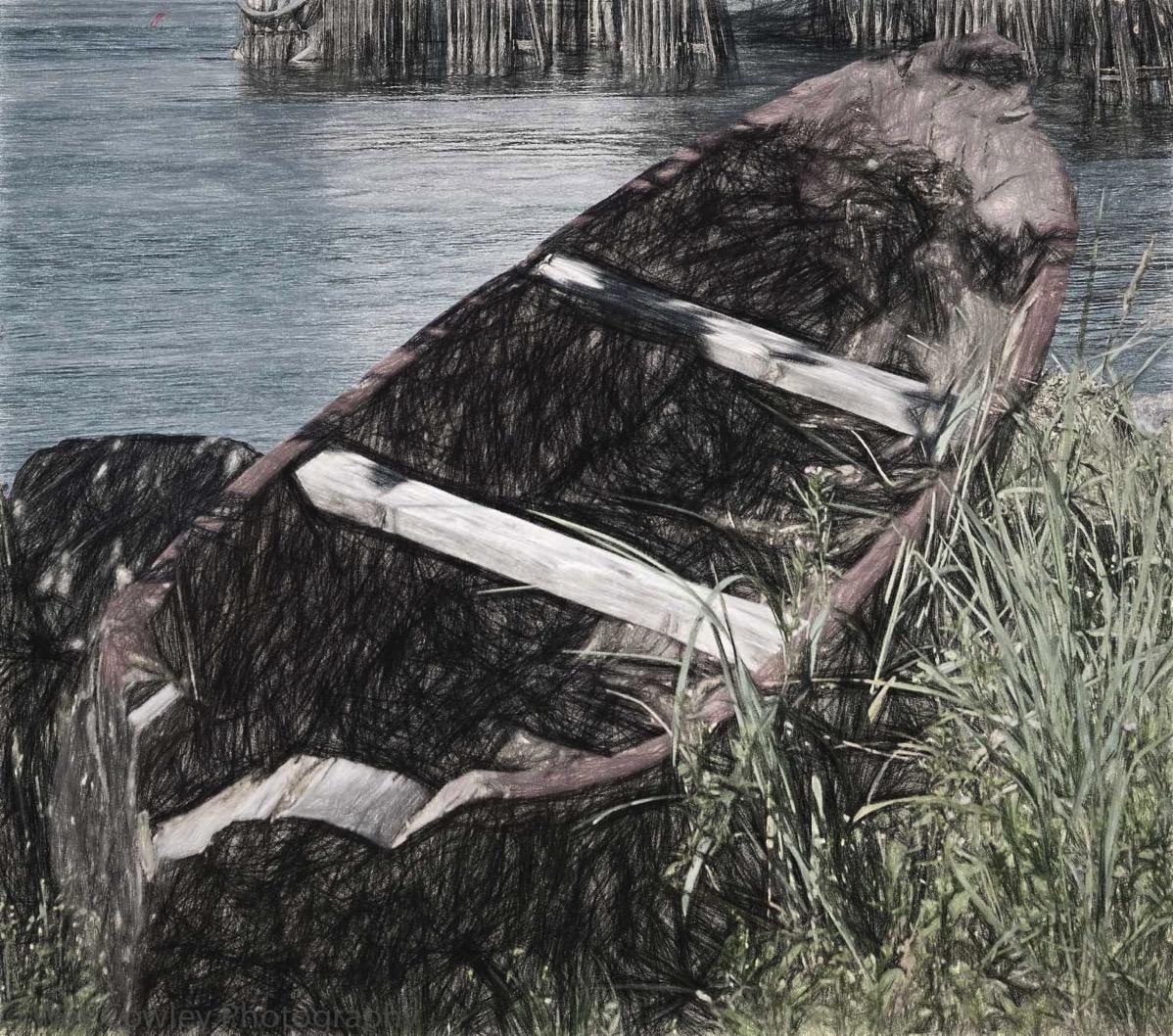 Wrangell abandoned boat sketchwork3