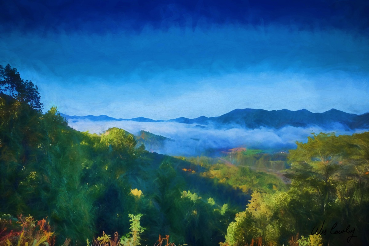 Nc morning fog rudis glaze signed