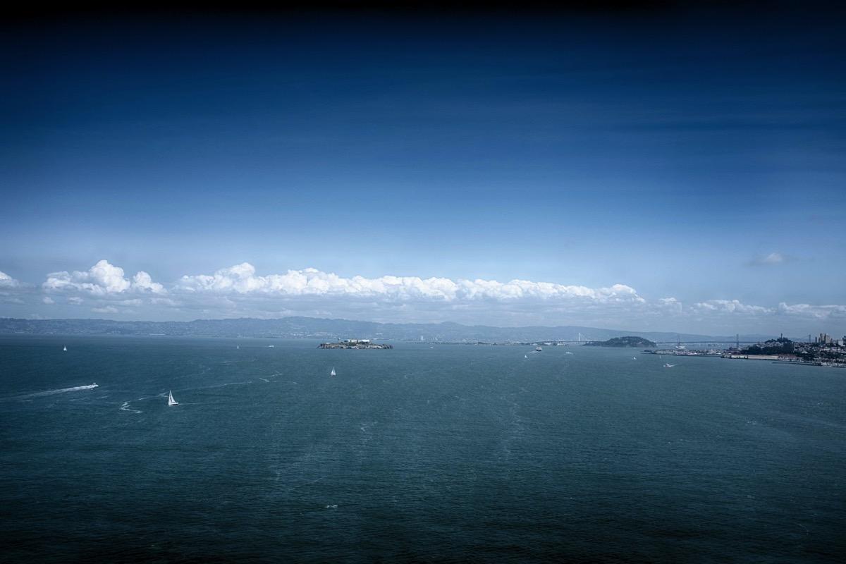 Alcatraz from bridge