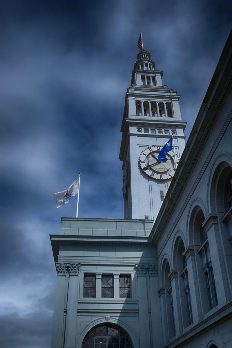 Ferry bldg clock tower