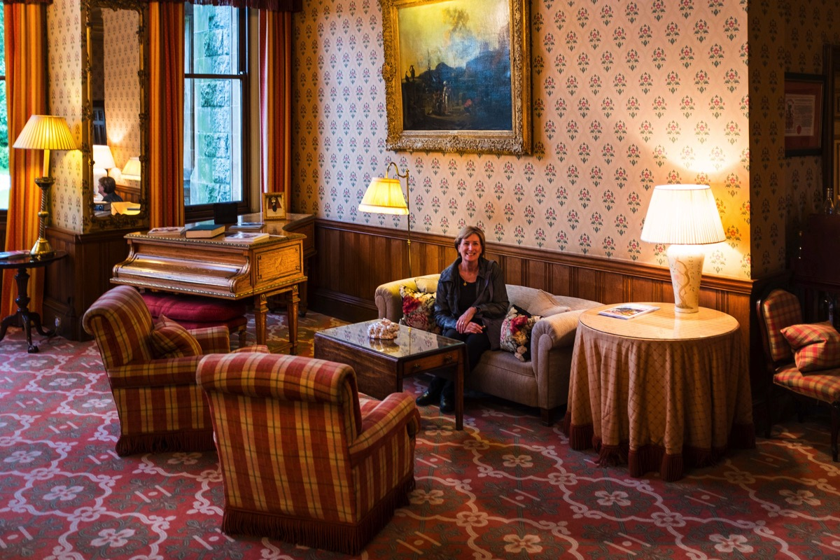 Drawing room at Inverlochy