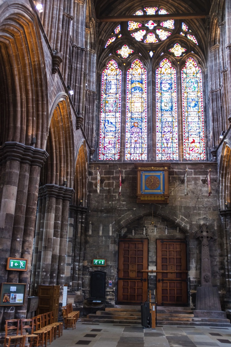 Inside glascow cathedral
