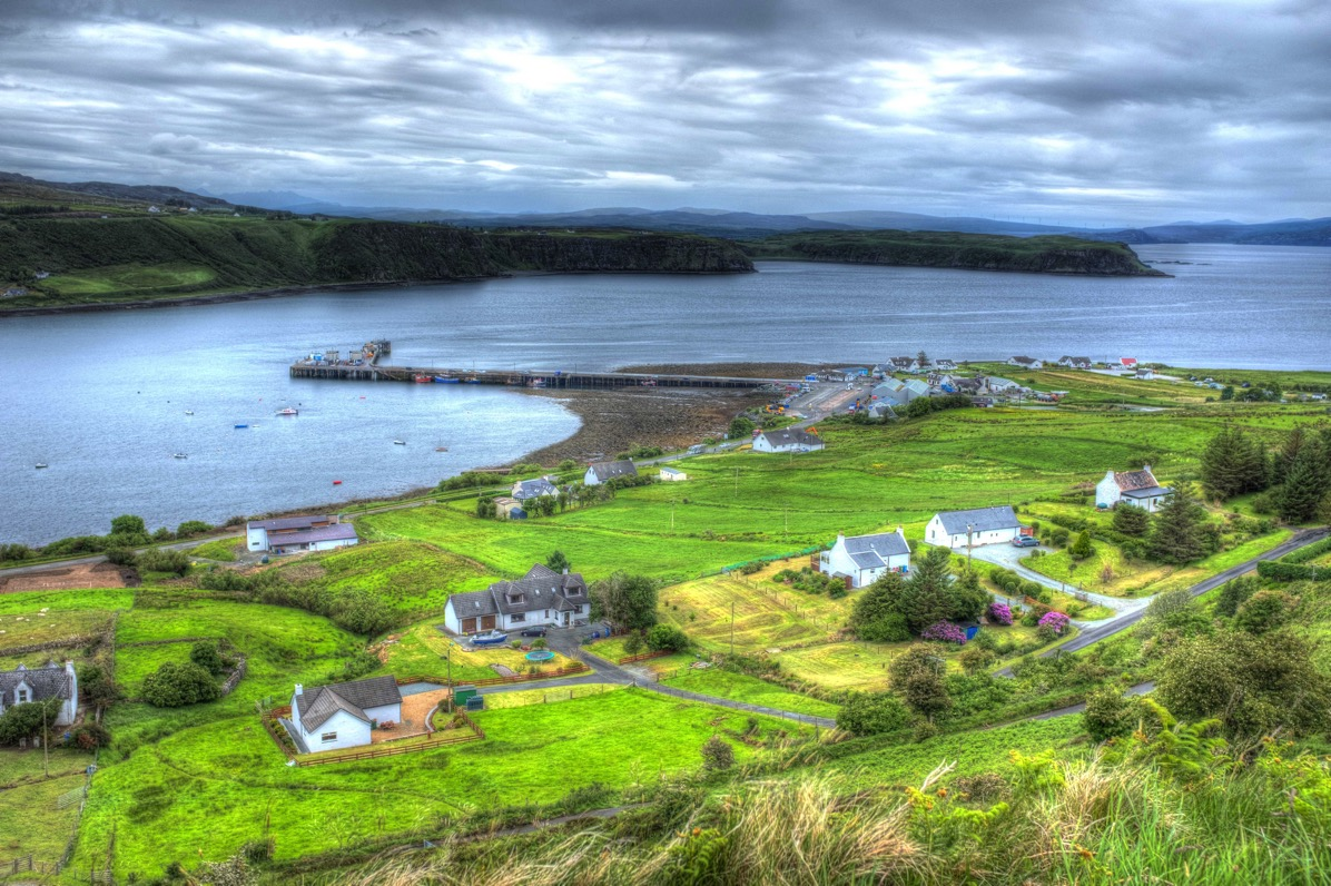 Little town on lock on skye 2