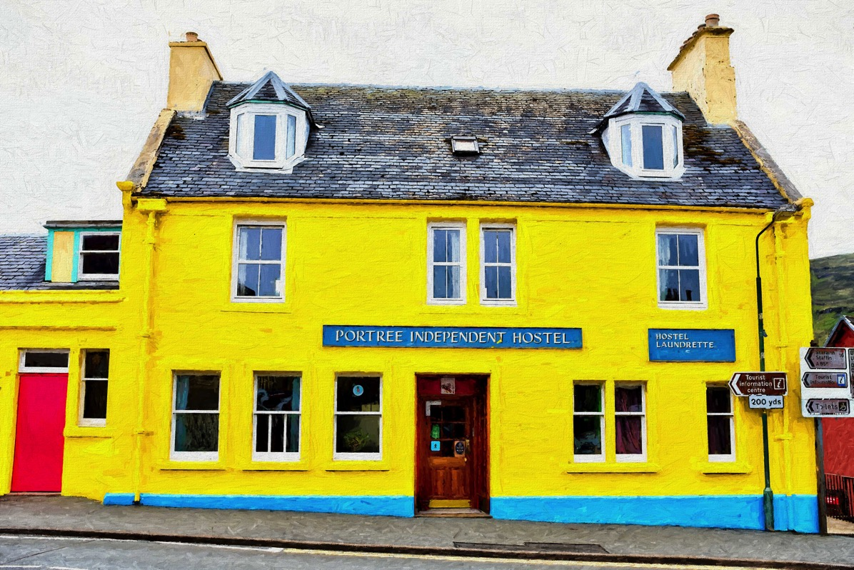 Portree independent hostel hopper