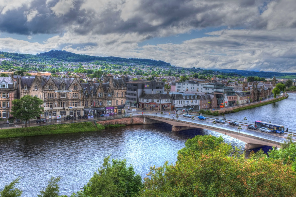 Inverness from above