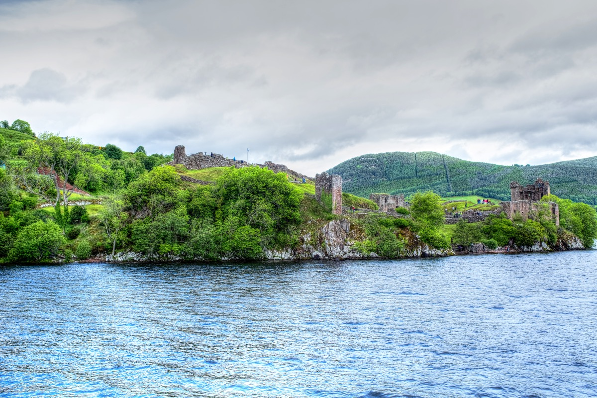 Urquwhart castle tonemapped