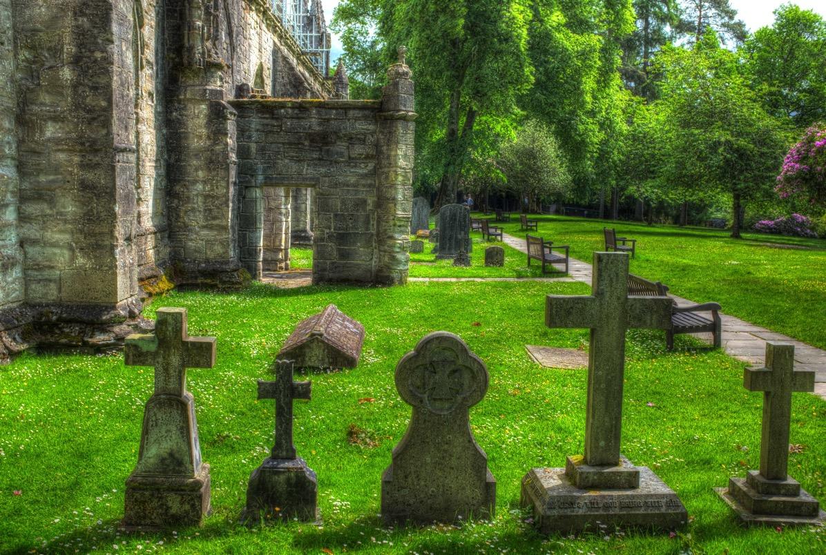 Dunkeld graves