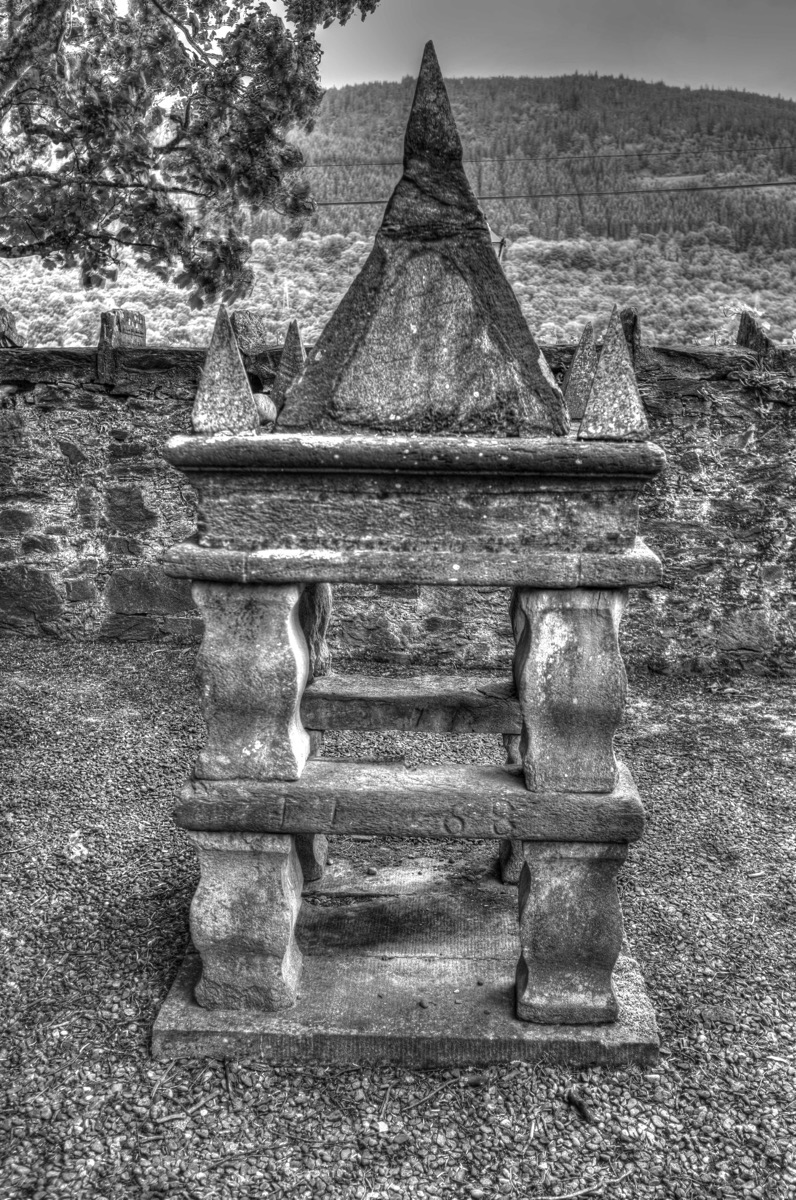 Fortingall church font