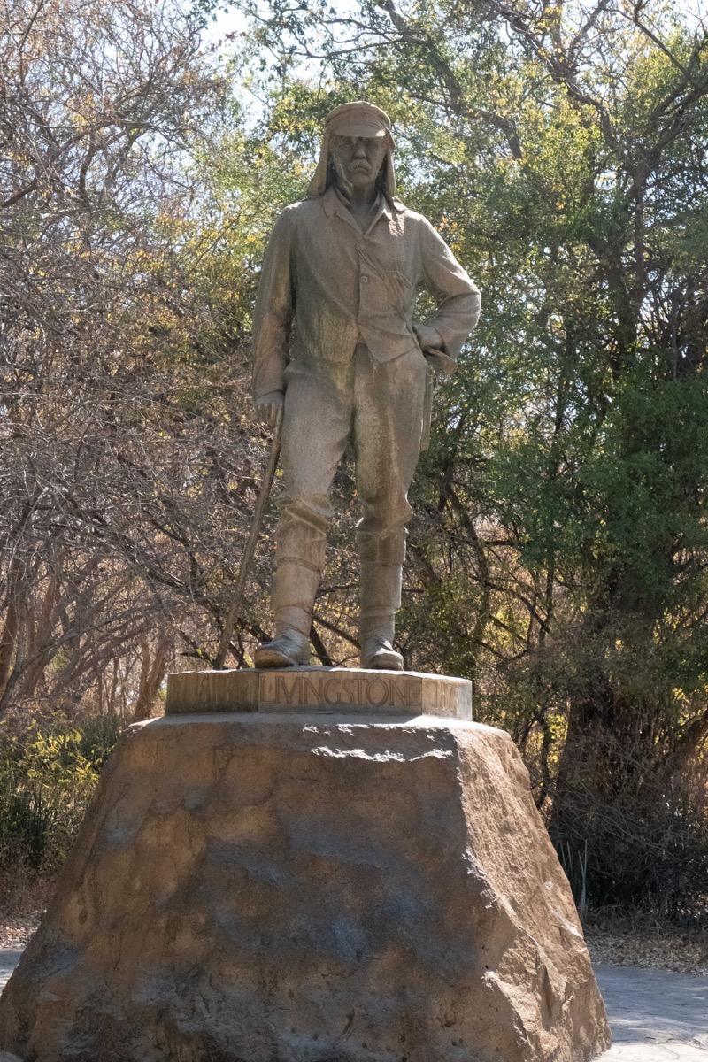 Livingston statue